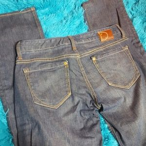 Dream Lab low rise straight jeans 4